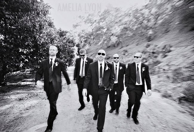 rancho_lomas_lyon black and white groomsmen photo