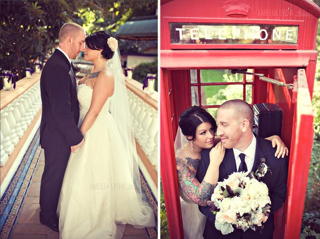 rancho_lomas_lyon bride and groom phone booth