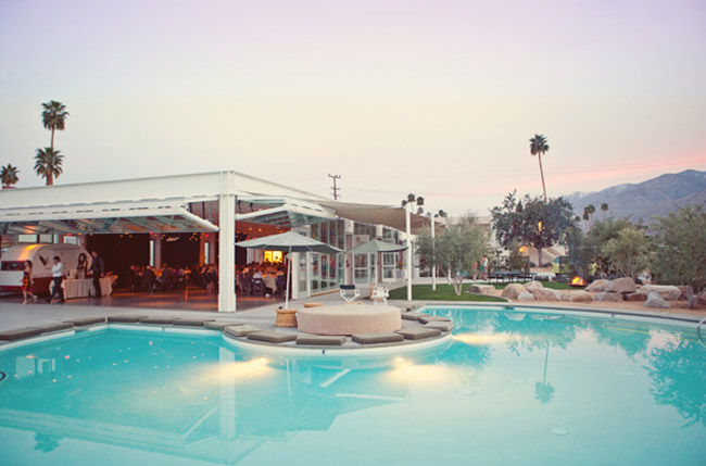 palm springs ace hotel wedding reception