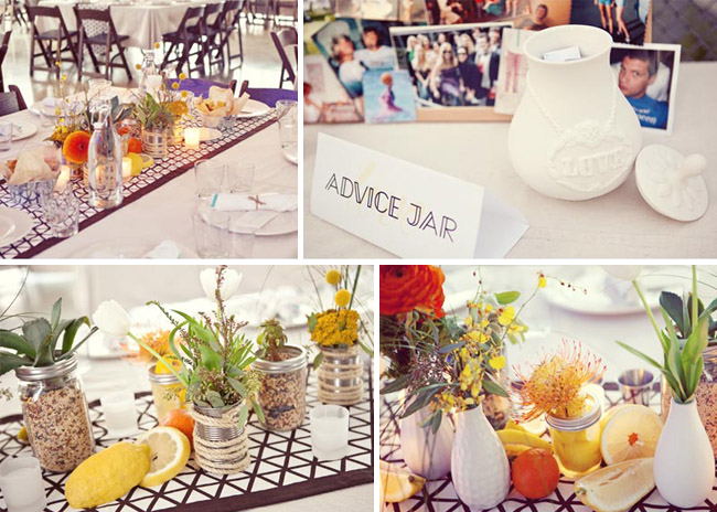 modern wedding decorations centerpiece