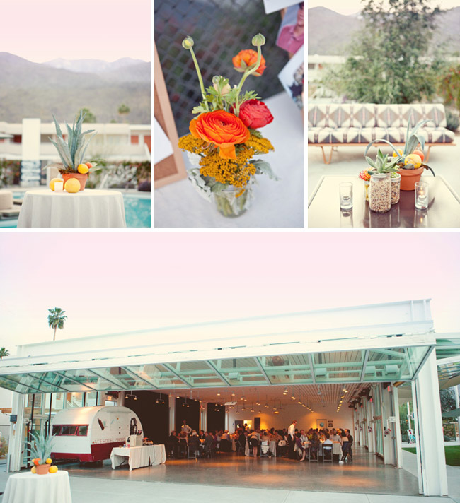 wedding reception ace hotel palm springs