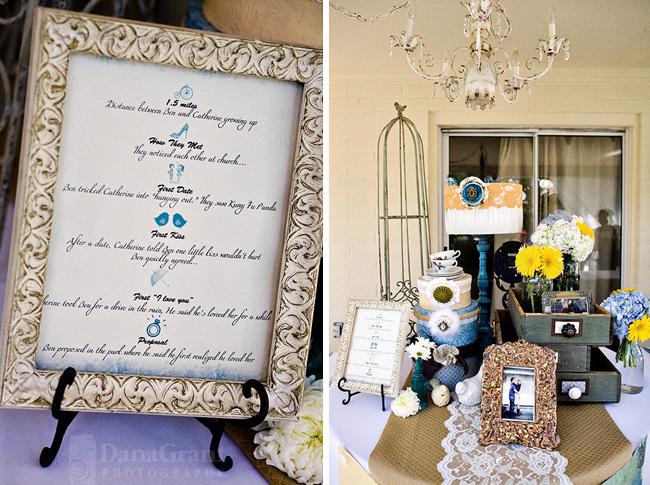 wedding vintage reception decoration