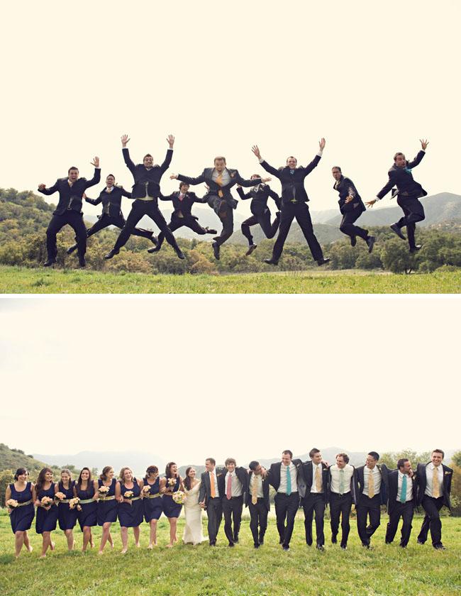 bridal party groomsmen ties