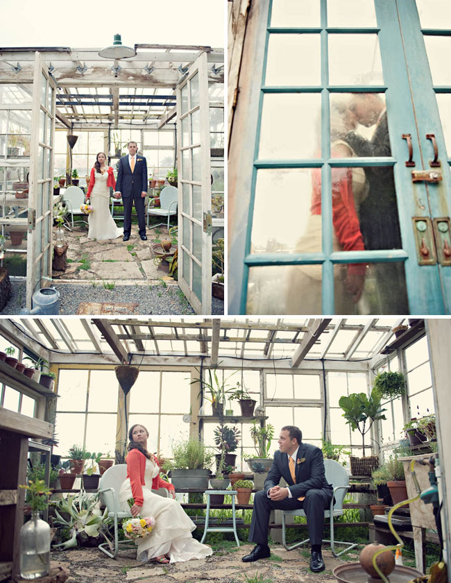 wedding green house