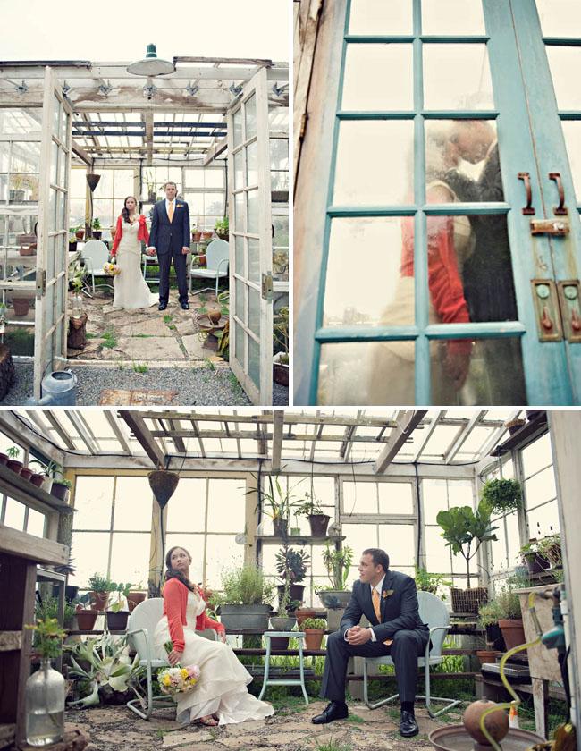 wedding green house
