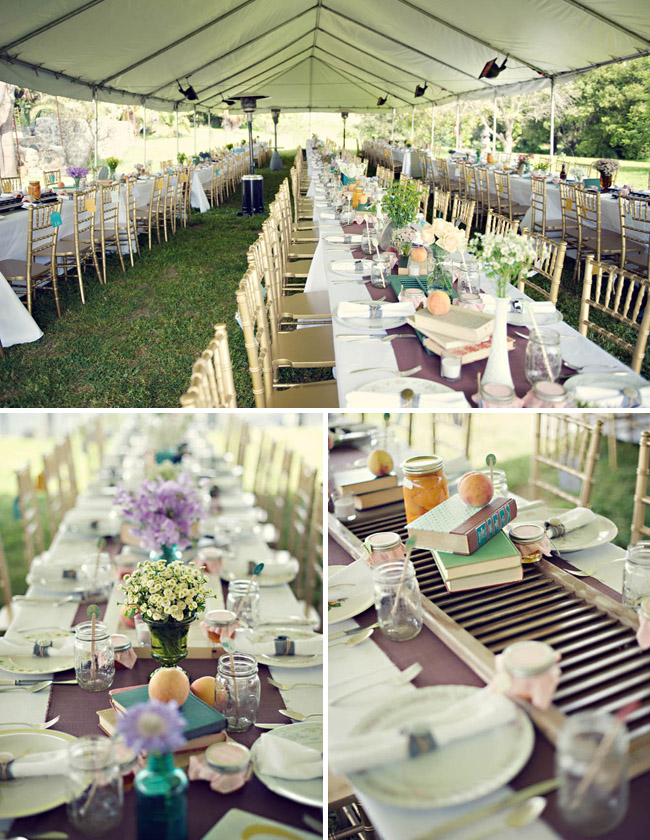 Rustic Wedding Table Design