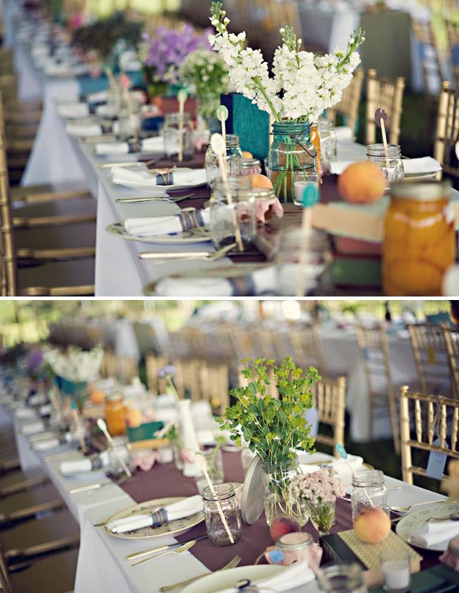 Anthropologie wedding design table reception