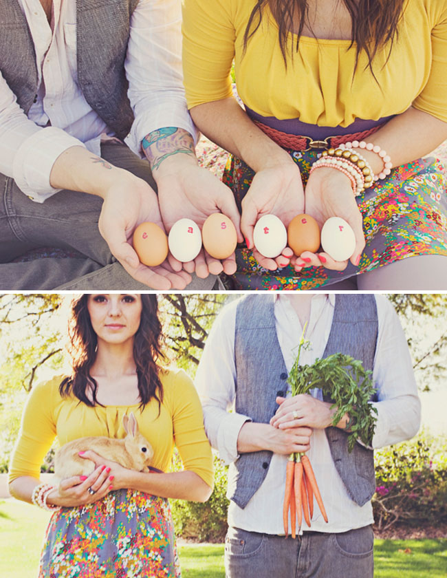 easter engagement