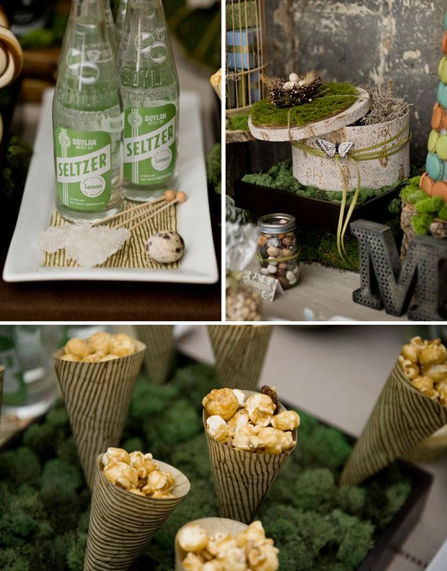 popcorn dessert table