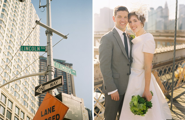 wedding brooklyn bridge