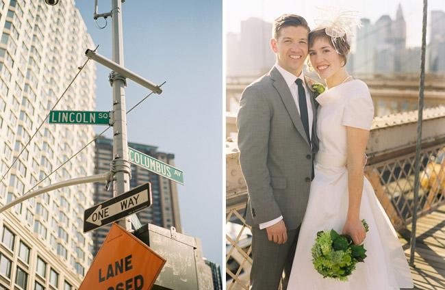 wedding brooklyn bridge