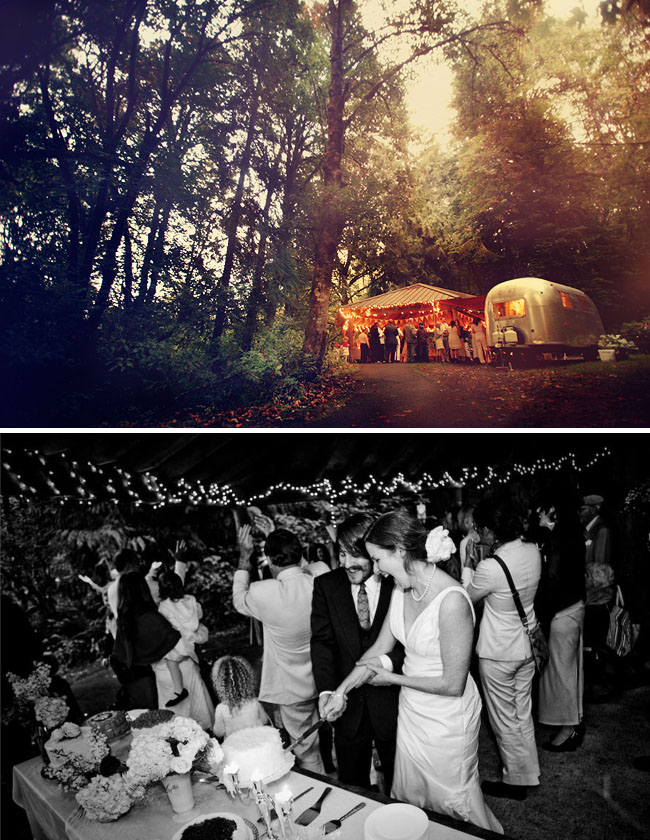 park wedding green wedding
