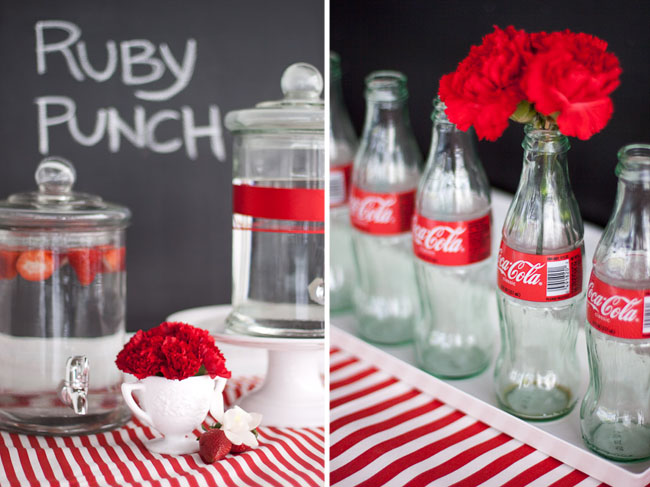 coca cola table display