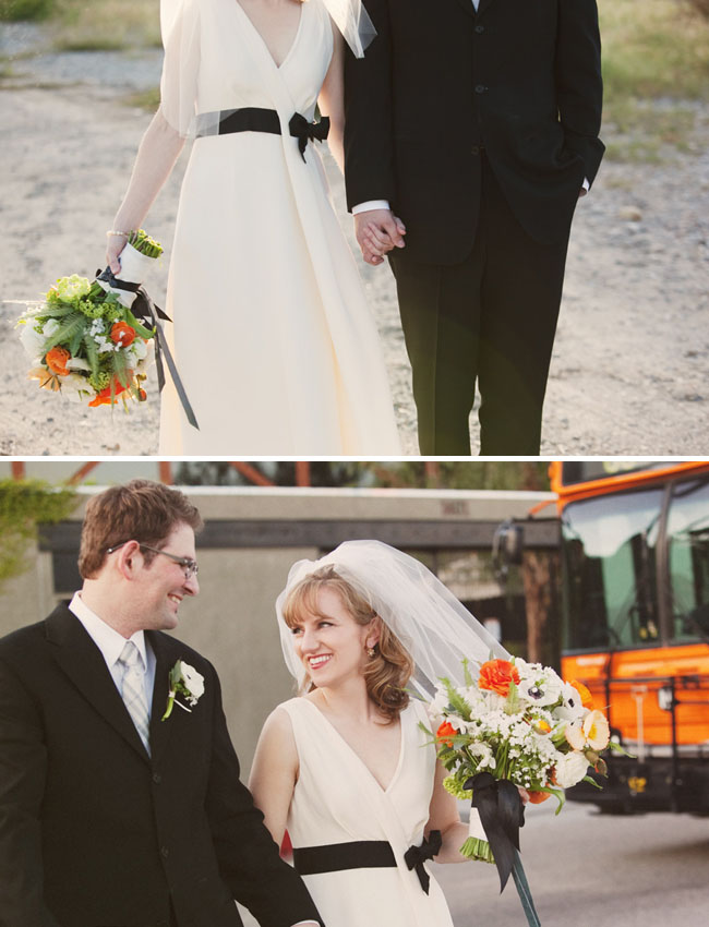 jcrew wedding gown black sash