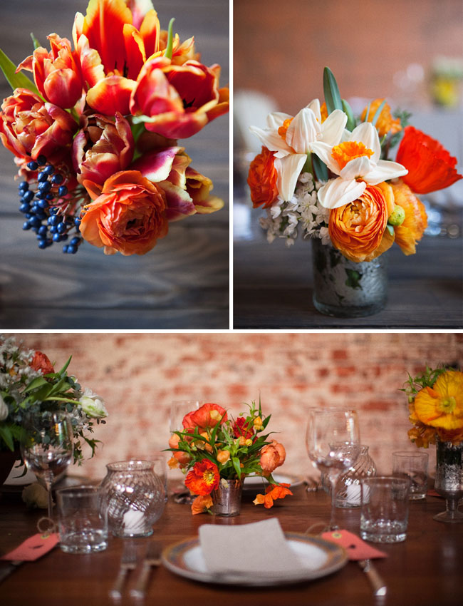 table design ranunculus wedding
