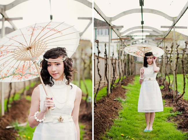 japanese parasol wedding dress