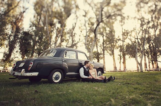car engagement photo