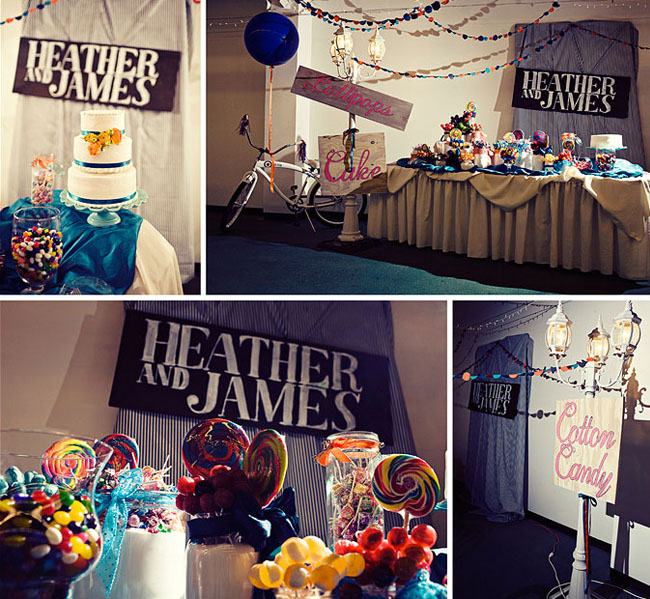 cake table wedding carnival