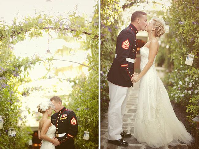 wedding portraits military