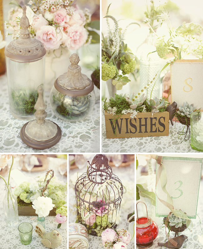 vintage outdoor wedding decorations brian s vintage outdoor real wedding green 8291