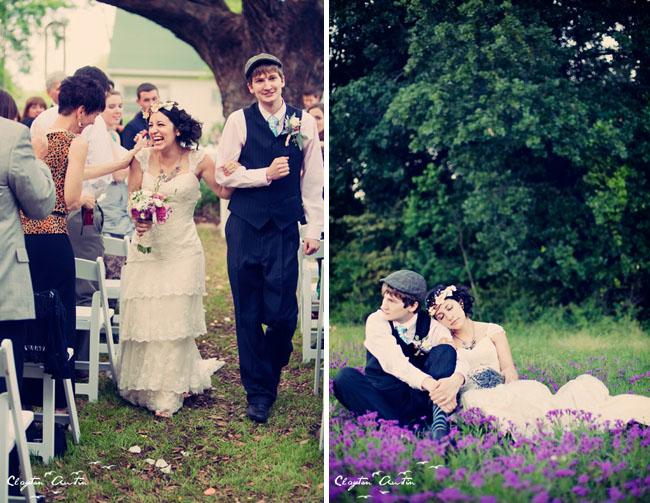 wedding couple field of lavender