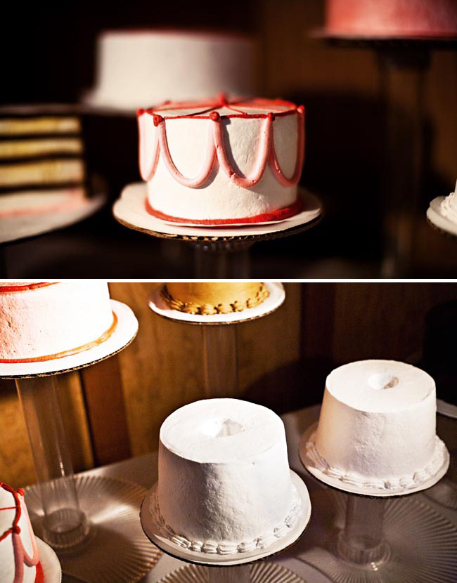 Thiebaud wedding cake display