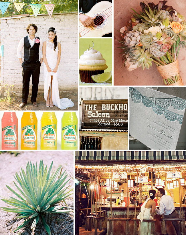 cinco de mayo wedding inspiration board
