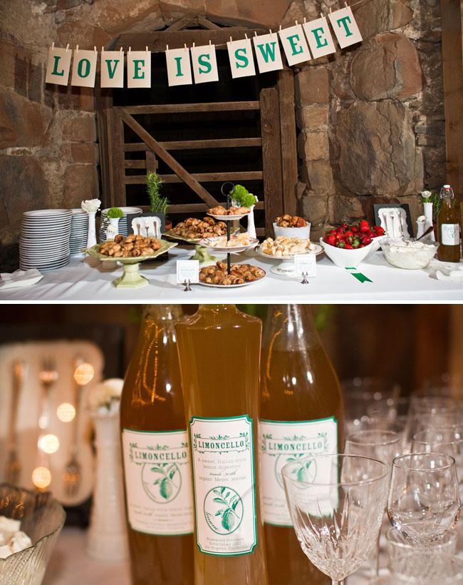 wedding lemoncello barn