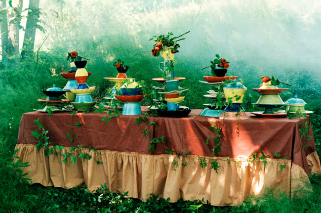 alice in wonderland table design