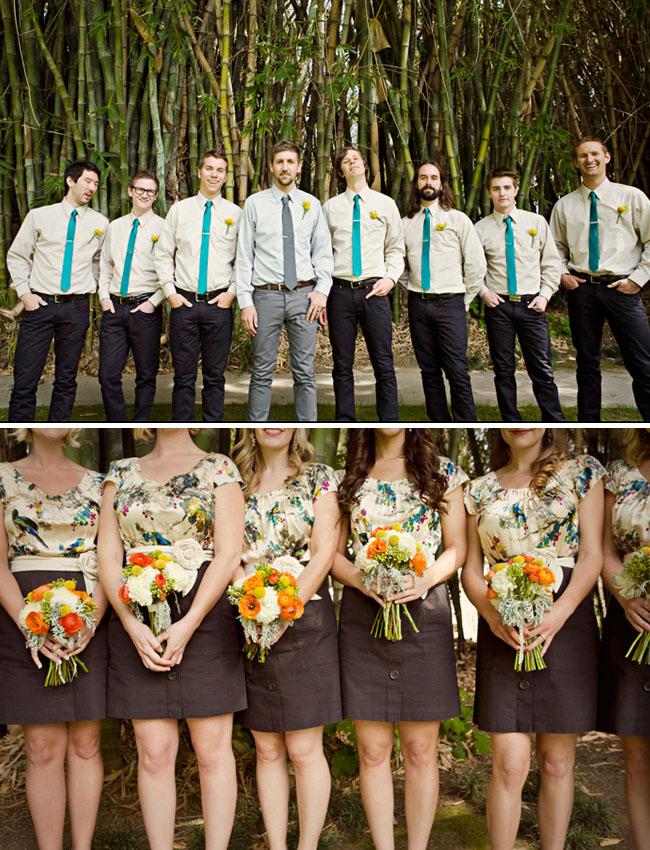 anthropologie bridesmaids dresses bridal party