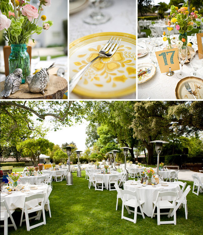 Simple Outdoor Wedding Reception Ideas
