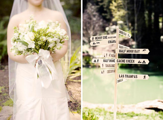 nestledown wedding bouquet