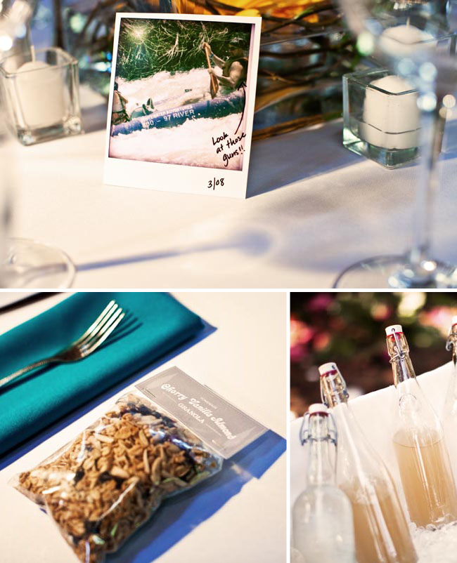 granola wedding favor