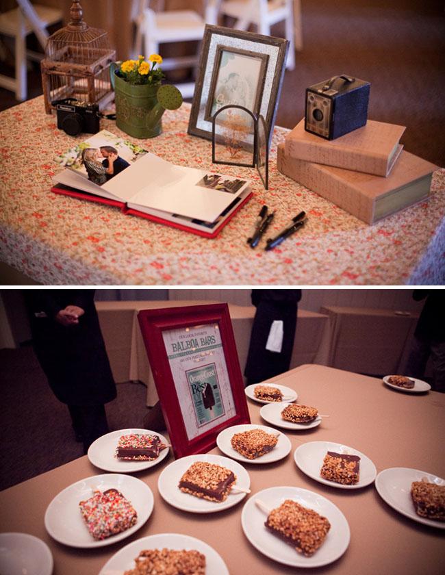desserts wedding