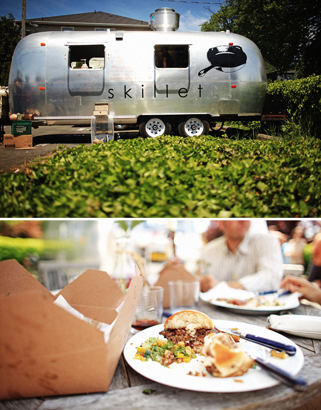skillet trailer wedding food seattle