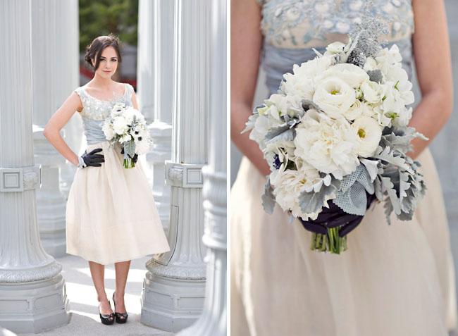 A bit modern + a bit vintage for your wedding