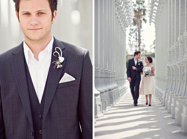wedding photos art los angeles