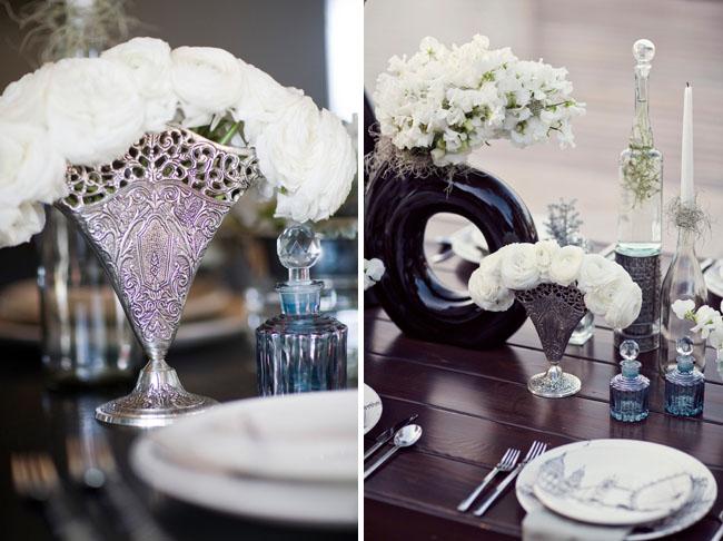 vintage wedding decorations flowers
