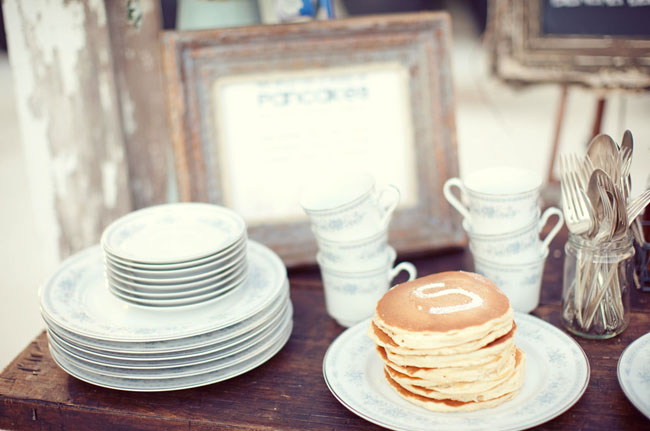 pancake bar wedding