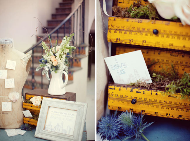 vintage wedding design found rentals