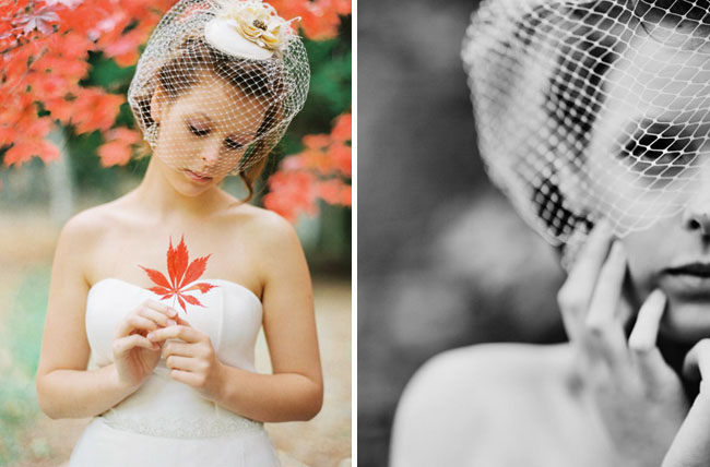 wedding dress vintage veil