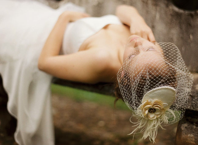 wedding headpiece veil