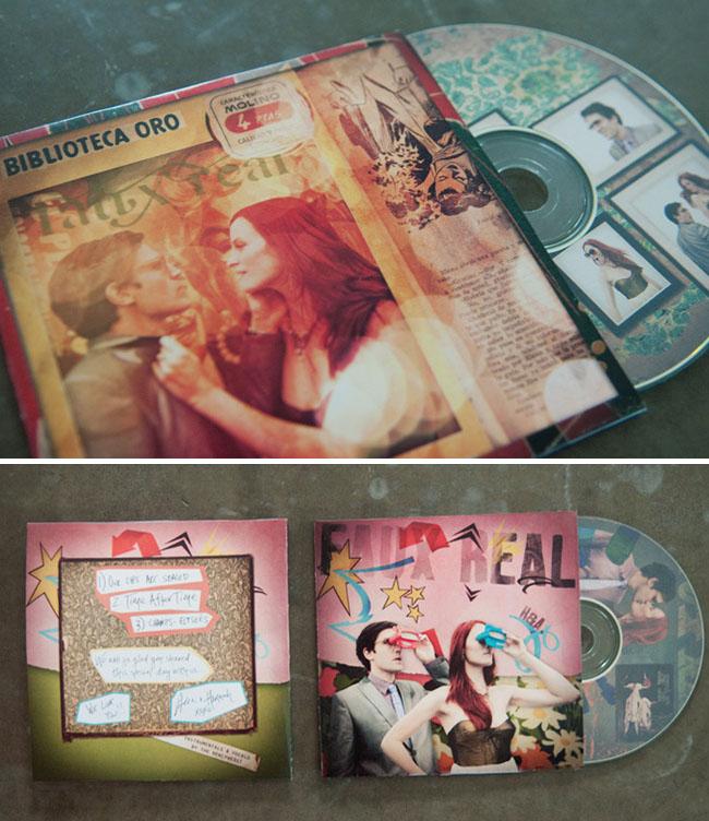 creative cd wedding favors