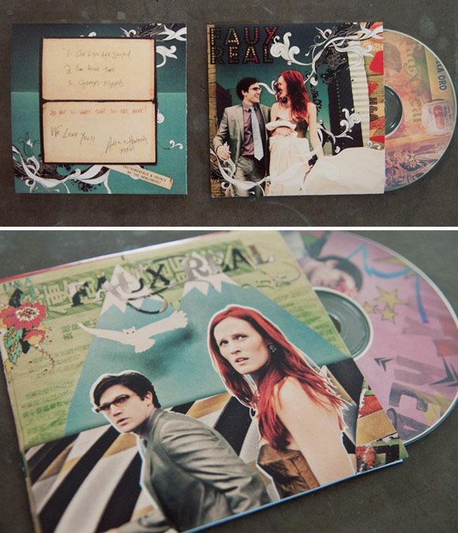 unique cd wedding favors