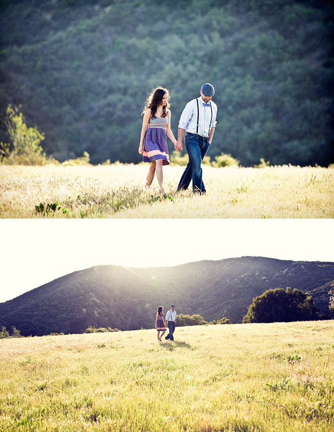 cherry fields engagement photos