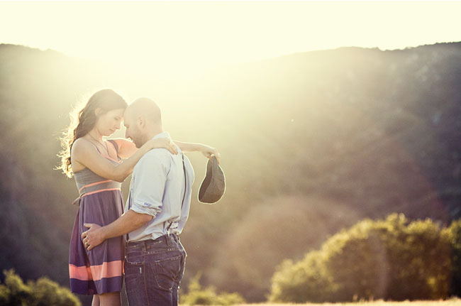 the notebook engagement photos