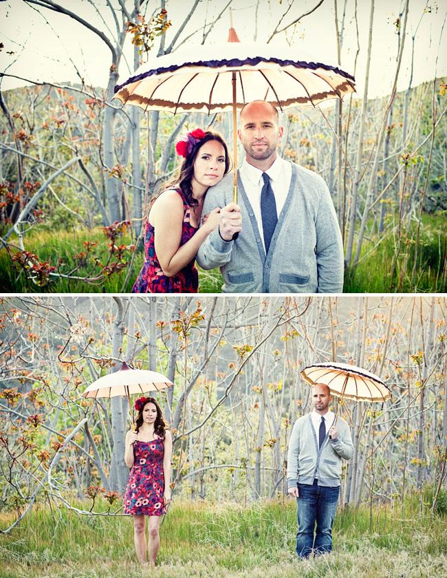 umbrella engagement photos bella umbrella