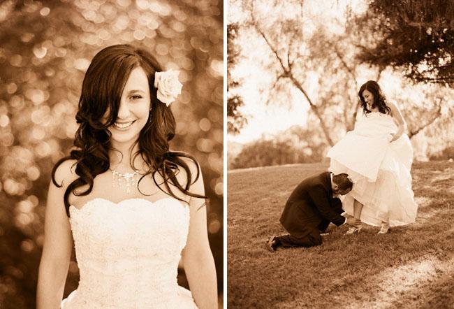 sepia wedding photos elizabeth messina