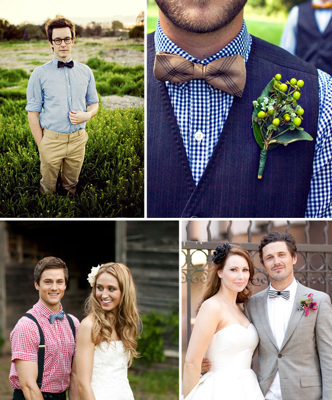 Fun Bowties For Your Wedding