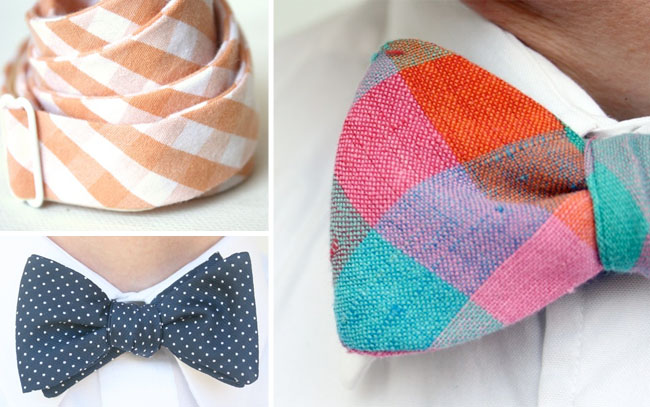 bowties from etsy